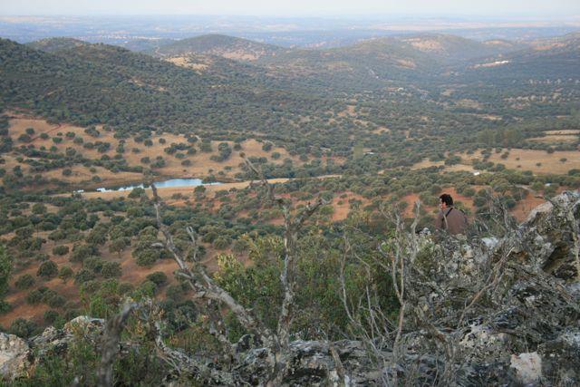 Big game hunting estate. Mountains