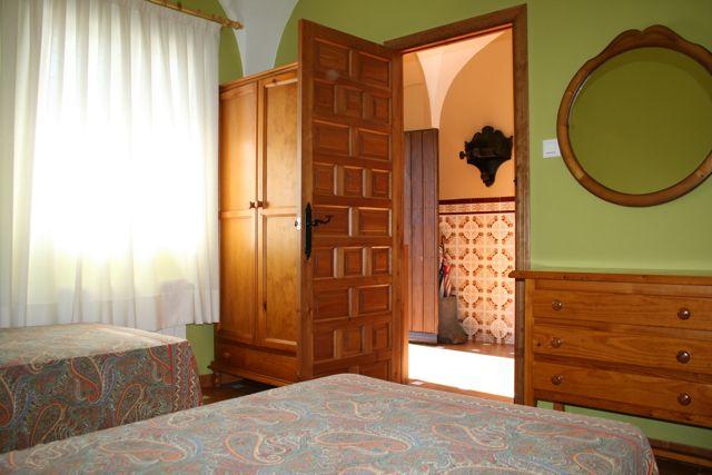 """Facilities at """"Los Claros"""". Bedroom Casa Francisquillo"""