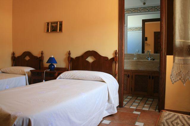 """Facilities at """"Los Claros"""". Beds"""