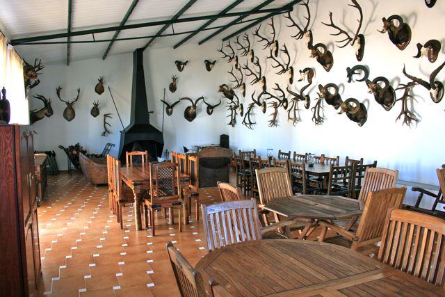 """Facilities at """"Los Claros"""". Big dining room"""