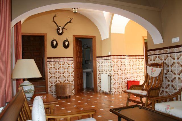 """Facilities at """"Los Claros"""". Entrance hall Casa Francisquillo"""