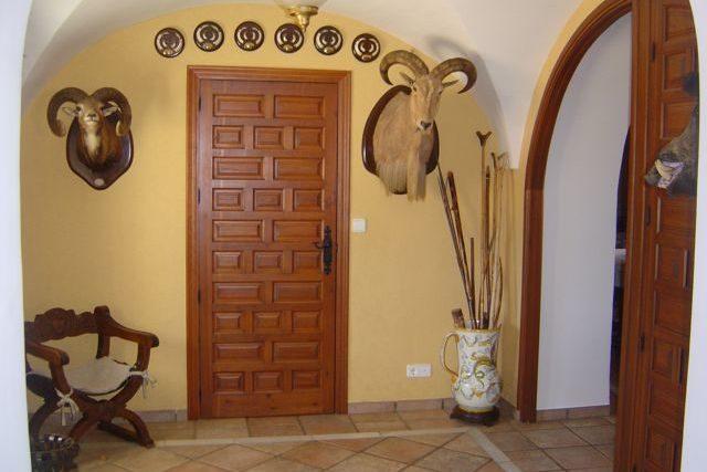 """Facilities at """"Los Claros"""". Entrance hall"""