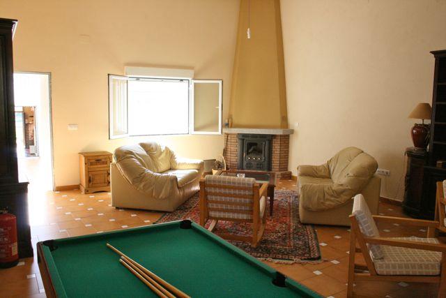 """Facilities at """"Los Claros"""". Game room Casa Francisquillo"""