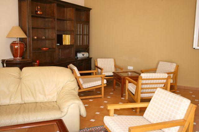 """Facilities at """"Los Claros"""". Living room Casa Francisquillo"""