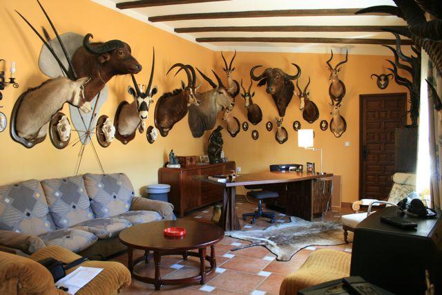 """Facilities at """"Los Claros"""". Living room"""