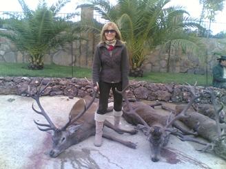 Hunters testimonials. Esperanza Franco Corell (Spain)