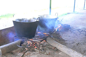 Rural traditions. Cooking