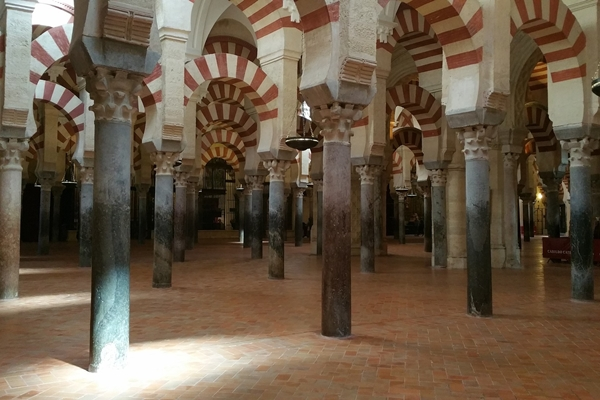 Tourism and hunting. Mosque Cathedral of Cordoba